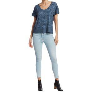 Rag + Bone Nina High-Rise Ankle Skinny Jeans Sz 25